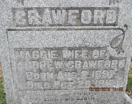 HOLLY CRAWFORD, MAGGIE - Pemiscot County, Missouri | MAGGIE HOLLY CRAWFORD - Missouri Gravestone Photos