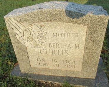 CURTIS, BERTHA M. - Pemiscot County, Missouri | BERTHA M. CURTIS - Missouri Gravestone Photos