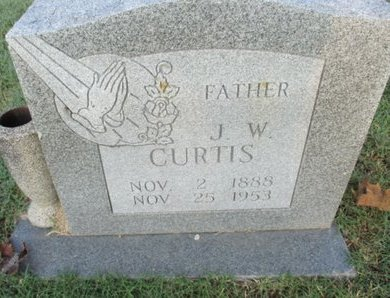 CURTIS, JAMES WESLEY - Pemiscot County, Missouri | JAMES WESLEY CURTIS - Missouri Gravestone Photos