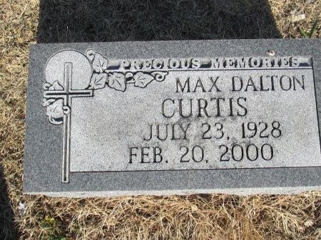 CURTIS, MAX DALTON - Pemiscot County, Missouri   MAX DALTON CURTIS - Missouri Gravestone Photos
