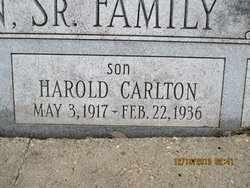 DENTON, HAROLD CARLTON - Pemiscot County, Missouri   HAROLD CARLTON DENTON - Missouri Gravestone Photos