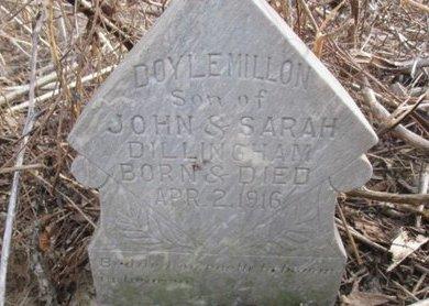 DILLINGHAM, DOYLE MILLION - Pemiscot County, Missouri | DOYLE MILLION DILLINGHAM - Missouri Gravestone Photos