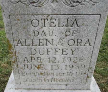 DUFFEY, OTELIA - Pemiscot County, Missouri | OTELIA DUFFEY - Missouri Gravestone Photos
