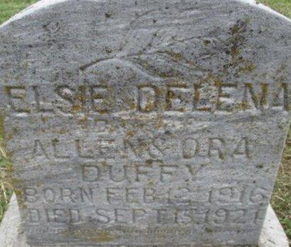 DUFFEY, ELSIE DELENA - Pemiscot County, Missouri   ELSIE DELENA DUFFEY - Missouri Gravestone Photos