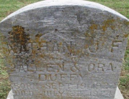 DUFFEY, NATHAN J. F. - Pemiscot County, Missouri   NATHAN J. F. DUFFEY - Missouri Gravestone Photos
