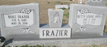 FRAZIER, BOICE - Pemiscot County, Missouri | BOICE FRAZIER - Missouri Gravestone Photos