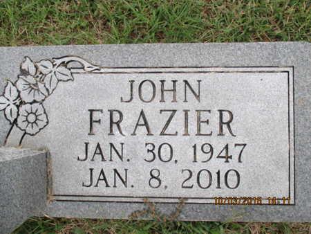 FRAZIER, JOHN WESLEY - Pemiscot County, Missouri | JOHN WESLEY FRAZIER - Missouri Gravestone Photos
