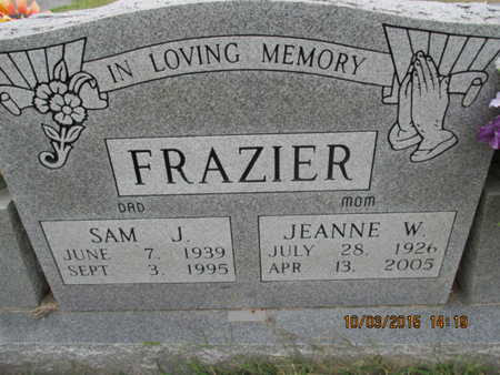 FRAZIER, JEANNE CATHERINE - Pemiscot County, Missouri   JEANNE CATHERINE FRAZIER - Missouri Gravestone Photos