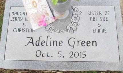 GREEN, ADELINE - Pemiscot County, Missouri | ADELINE GREEN - Missouri Gravestone Photos