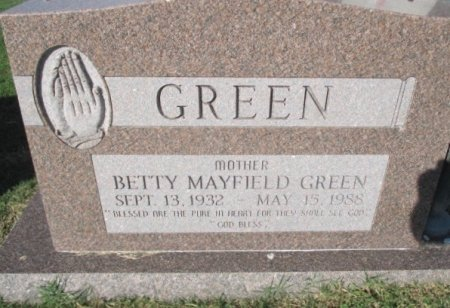 GREEN, BETTY  - Pemiscot County, Missouri | BETTY  GREEN - Missouri Gravestone Photos