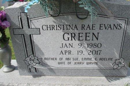 GREEN, CHRISTINE RAE - Pemiscot County, Missouri | CHRISTINE RAE GREEN - Missouri Gravestone Photos