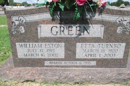 GREEN, ETTA LOUISE - Pemiscot County, Missouri   ETTA LOUISE GREEN - Missouri Gravestone Photos
