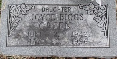 GREEN, JOYCE MARIE - Pemiscot County, Missouri | JOYCE MARIE GREEN - Missouri Gravestone Photos