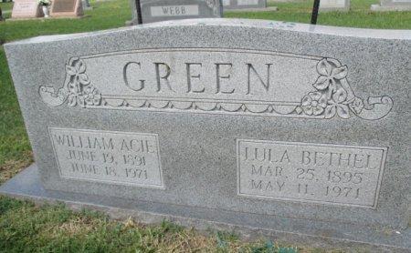 BRADFORD GREEN, LULA BETHEL - Pemiscot County, Missouri | LULA BETHEL BRADFORD GREEN - Missouri Gravestone Photos