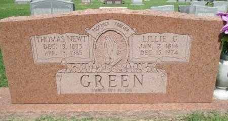 GREEN, LILLIE GERTRUDE - Pemiscot County, Missouri | LILLIE GERTRUDE GREEN - Missouri Gravestone Photos