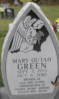 GREEN, MARY QUTAH - Pemiscot County, Missouri | MARY QUTAH GREEN - Missouri Gravestone Photos