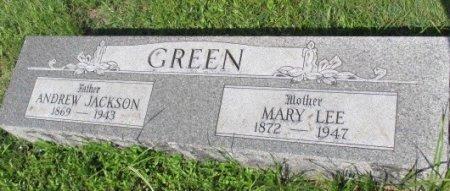 GREEN, MARY LEE - Pemiscot County, Missouri | MARY LEE GREEN - Missouri Gravestone Photos