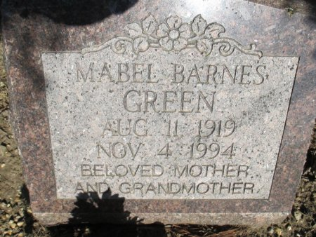 GREEN, MABEL - Pemiscot County, Missouri | MABEL GREEN - Missouri Gravestone Photos