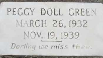 GREEN, PEGGY DOLL PATE - Pemiscot County, Missouri | PEGGY DOLL PATE GREEN - Missouri Gravestone Photos