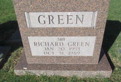 GREEN, RICHARD - Pemiscot County, Missouri | RICHARD GREEN - Missouri Gravestone Photos