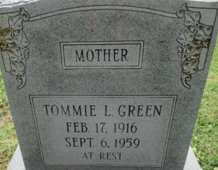 GREEN, TOMMIE LOUISE - Pemiscot County, Missouri | TOMMIE LOUISE GREEN - Missouri Gravestone Photos