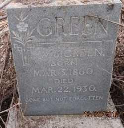 GREEN, WILLIAM JAMES - Pemiscot County, Missouri | WILLIAM JAMES GREEN - Missouri Gravestone Photos