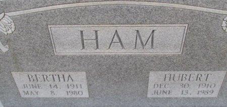 HAM, HUBERT - Pemiscot County, Missouri | HUBERT HAM - Missouri Gravestone Photos
