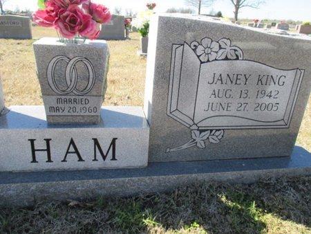 HAM, JANEY KAY - Pemiscot County, Missouri | JANEY KAY HAM - Missouri Gravestone Photos