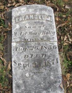 HOLLY, EMANUEL J. - Pemiscot County, Missouri   EMANUEL J. HOLLY - Missouri Gravestone Photos