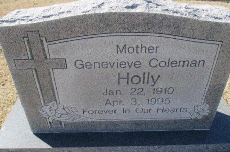 HOLLY, GENEVIEVE - Pemiscot County, Missouri | GENEVIEVE HOLLY - Missouri Gravestone Photos