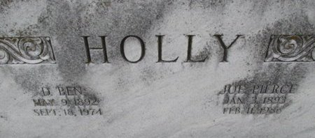 HOLLY, DAVID BENNETT - Pemiscot County, Missouri | DAVID BENNETT HOLLY - Missouri Gravestone Photos