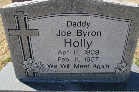 HOLLY, JOE BYRON, SR - Pemiscot County, Missouri | JOE BYRON, SR HOLLY - Missouri Gravestone Photos