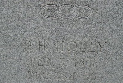 "HOLLY, PINKNEY HARRISON ""PINKY"" - Pemiscot County, Missouri 