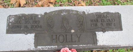 "HOLLY, VERLIE ULDENE ""DEAN"" - Pemiscot County, Missouri | VERLIE ULDENE ""DEAN"" HOLLY - Missouri Gravestone Photos"