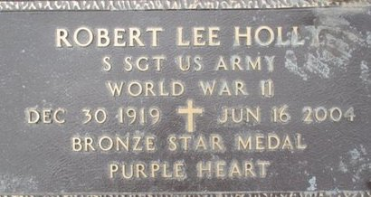 HOLLY, ROBERT LEE VETERAN - Pemiscot County, Missouri | ROBERT LEE VETERAN HOLLY - Missouri Gravestone Photos