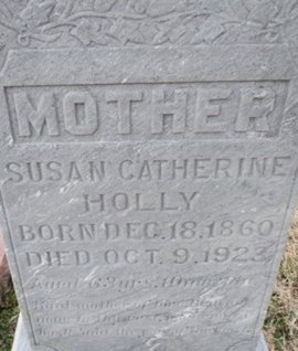 HOLLY, SUSAN CATHERINE - Pemiscot County, Missouri   SUSAN CATHERINE HOLLY - Missouri Gravestone Photos