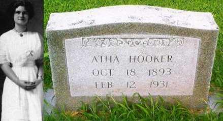 KING HOOKER, ATHA GENEVA - Pemiscot County, Missouri | ATHA GENEVA KING HOOKER - Missouri Gravestone Photos