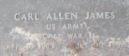 JAMES, CARL ALLEN VETERAN - Pemiscot County, Missouri   CARL ALLEN VETERAN JAMES - Missouri Gravestone Photos