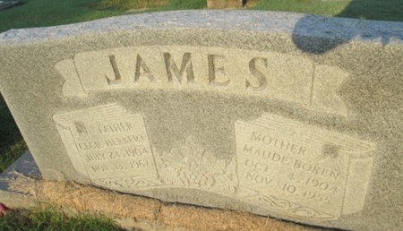 JAMES, CECIL HERBERT - Pemiscot County, Missouri | CECIL HERBERT JAMES - Missouri Gravestone Photos