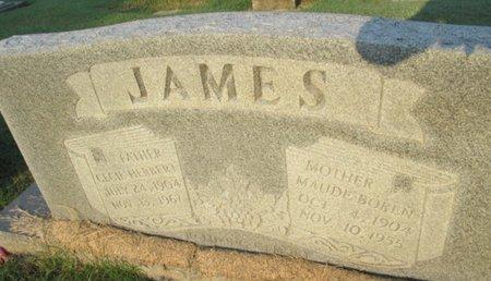 JAMES, MAUDE - Pemiscot County, Missouri | MAUDE JAMES - Missouri Gravestone Photos