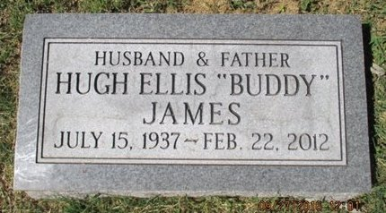 "JAMES, HUGH ELLIS ""BUDDY"" - Pemiscot County, Missouri 
