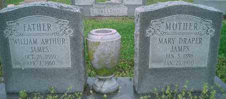 JAMES, WILLIAM ARTHUR - Pemiscot County, Missouri | WILLIAM ARTHUR JAMES - Missouri Gravestone Photos