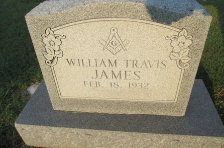 JAMES, WILLIAM TRAVIS - Pemiscot County, Missouri | WILLIAM TRAVIS JAMES - Missouri Gravestone Photos