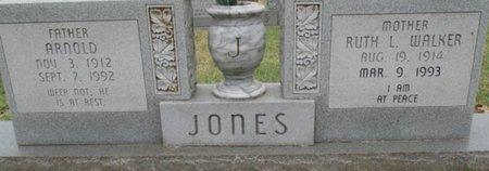 JONES, ARNOLD - Pemiscot County, Missouri | ARNOLD JONES - Missouri Gravestone Photos