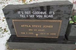 JONES, ATTLA STEVE VETERAN - Pemiscot County, Missouri | ATTLA STEVE VETERAN JONES - Missouri Gravestone Photos