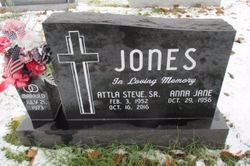 JONES, ATTLA STEVE - Pemiscot County, Missouri | ATTLA STEVE JONES - Missouri Gravestone Photos