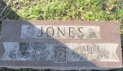 JONES, ALICE ADA  - Pemiscot County, Missouri | ALICE ADA  JONES - Missouri Gravestone Photos