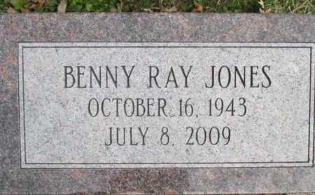 JONES, BENNY RAY - Pemiscot County, Missouri   BENNY RAY JONES - Missouri Gravestone Photos