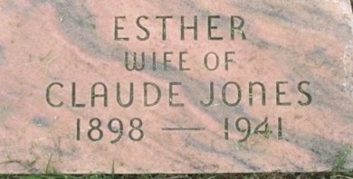 JONES, ZELA ESTHER - Pemiscot County, Missouri | ZELA ESTHER JONES - Missouri Gravestone Photos