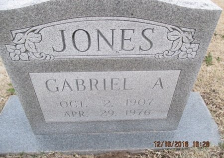 JONES, GABRIEL A. - Pemiscot County, Missouri | GABRIEL A. JONES - Missouri Gravestone Photos